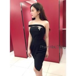 Đầm body tà xéo
