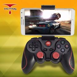 Tay game bluetooth Gamemax Terios T3 S3 Có Kẹp điện thoại BR