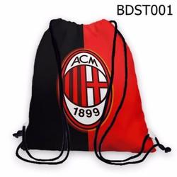 Balo dây rút - Túi rút thể thao AC Milan HOT - VBDST001