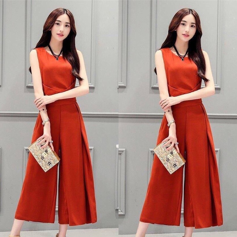 KN370 - JUMSUIT ỐNG RỘNG CAO CẤP 1