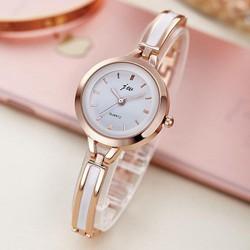Đồng hồ thời trang nữ sinh dạng vòng tay giả gốm - KT16010
