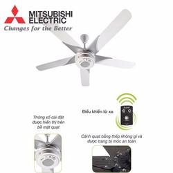 Quạt trần 5 cánh Mitsubishi có điều khiển từ xa