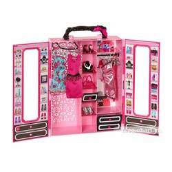 Barbie Tủ quần áo thời trang