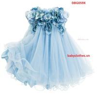 [9-30Kg] Đầm LUXURY Kiêu Sa Đính Hoa Pha Lê