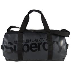 Túi xách du lịch Superdry Tarp Barrel Bag Black