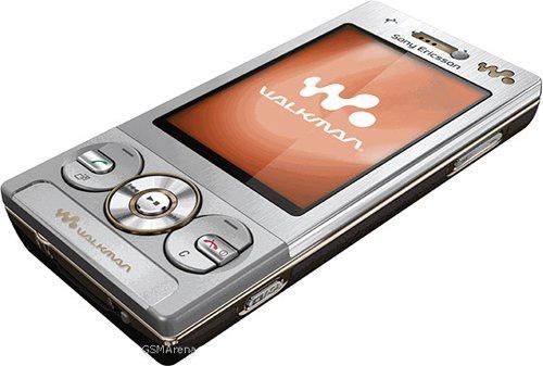 Sony Ericsson W705 nắp trượt 4