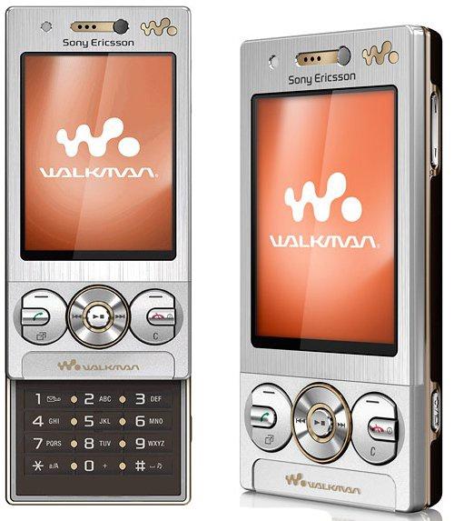 Sony Ericsson W705 nắp trượt 1