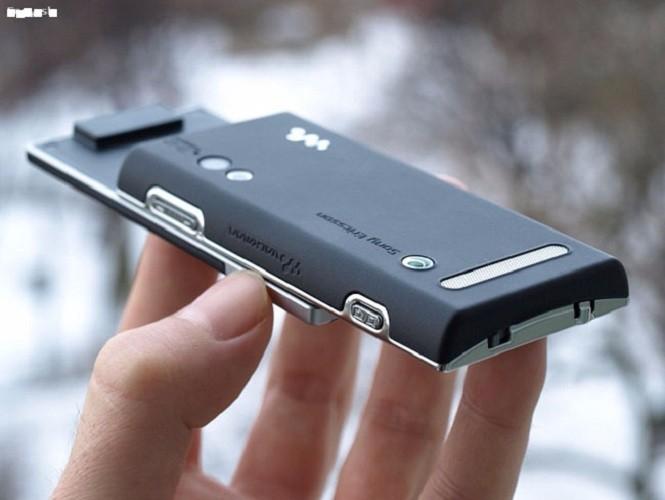 Sony Ericsson W705 nắp trượt 3