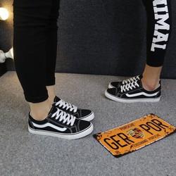 [Greenlife Shop] Giày Bata Vans đen