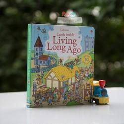 Sách Usborne - Look Inside Living Long Ago