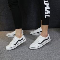 [Greenlife Shop] Giày Bata Vans trắng