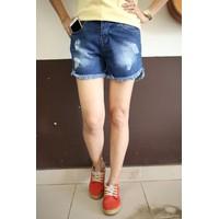 Quần Shorts Rách Tua Lai