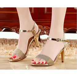 giày cao gót nữ kim tuyến