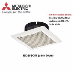 Quạt thông gió hút âm trần Mitsubishi 20SC5T