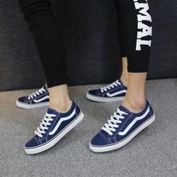 [Greenlife Shop] Giày Bata Vans xanh