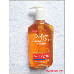 Sữa rửa mặt trị mụn Neutrogena
