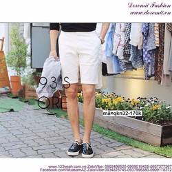 Quần short kaki nam stlye Hàn Quốc trẻ trung sành điệu QKN33