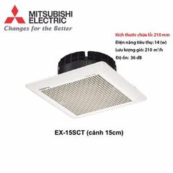 Quạt thông gió hút âm trần Mitsubishi 15SCT