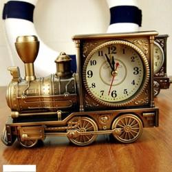 Đồng hồ để bàn mô hình tàu lửa