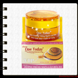 Kem dưỡng trắng - Ngừa lão hóa da One Today Vip