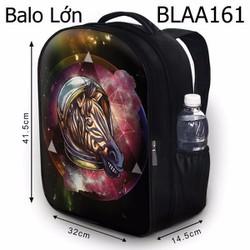 Balo Teen - Học sinh - Laptop Phi hành gia ngựa - VBLAA161