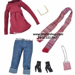 BB082-Set 6 món mùa thu cho búp bê barbie