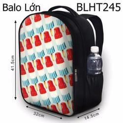 Balo Teen - Học sinh - Laptop que kem 3 màu - VBLHT245