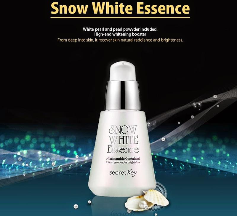 Tinh chất đặc trị trắng da Snow White Essence Secret Key 30ml 2