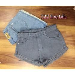 Quần short jean 2 màu 3size S,M,L - A26165