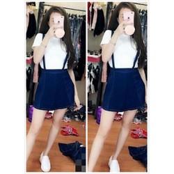 Yếm váy jean 3 size S,M,L - A25907