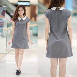 Mimihouse - Đầm suông cổ peter túi hàng thiết kế!