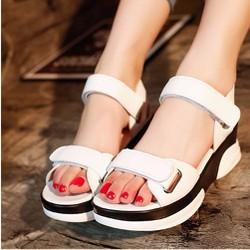 [HOT] Giày Sandal quai dán phong cách Hàn Quốc_Mã số S032T