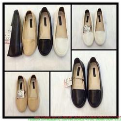 Giày mọi da nữ thiết kế đơn giản sang trọng GM111