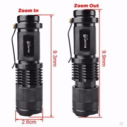 ĐÈN PIN LED CREE ZOOM MINI Q5