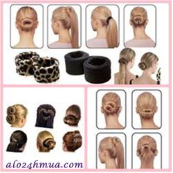 Bộ 2 dụng cụ búi tóc nghệ thuật Spiral Bun-Hairagami