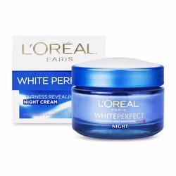 Kem Dưỡng Da Trắng Sáng L'Oreal White Perfect Night Cream 50ml