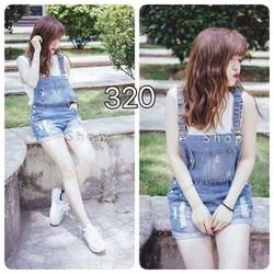 Yếm jean 3 size S,M,L - A24579