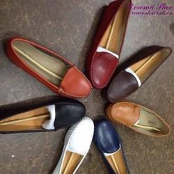 Giày mọi da nữ công sở kiểu dáng đơn giản sành điệu GM119