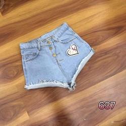 Quần short jean 3 size S, M, L - A24741