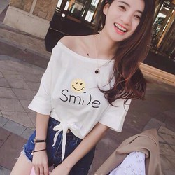 Áo trễ vai smile