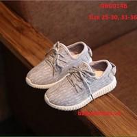 [Size 31-36] Giày Bata Xám Siêu Hot