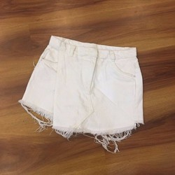 Quần short jean rách giả váy 3size S,M,L - A26091