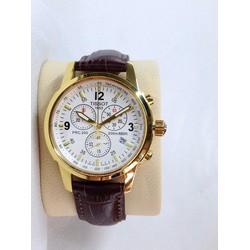 Đồng hồ dây da nam giá rẻ TpHCM T17FGN