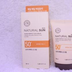 Kem Chống Nắng Natural Sun Eco Super Perfect SPF 50