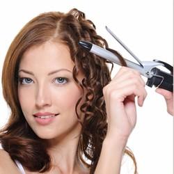 máy uốn tóc mini