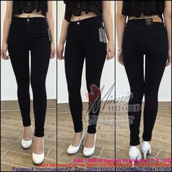 Sét áo kiểu yếm viền đen phối quần ống suông sành điệu SQV214