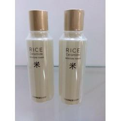 Nước hoa hồng Gạo Rice Ceramide Moisture Toner TheFaceShop