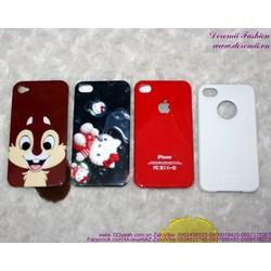 Ốp iphone 4 nhựa cứng bền đẹp giá rẻ IP77