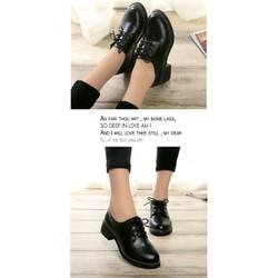 Giày oxford đơn giản G002-BB