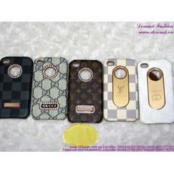 Ốp iphone 4 đính hạt họa tiết sang trọng IP100